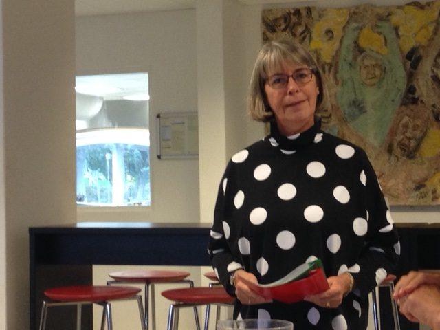 Skolechef, Helle Hansen holder tale